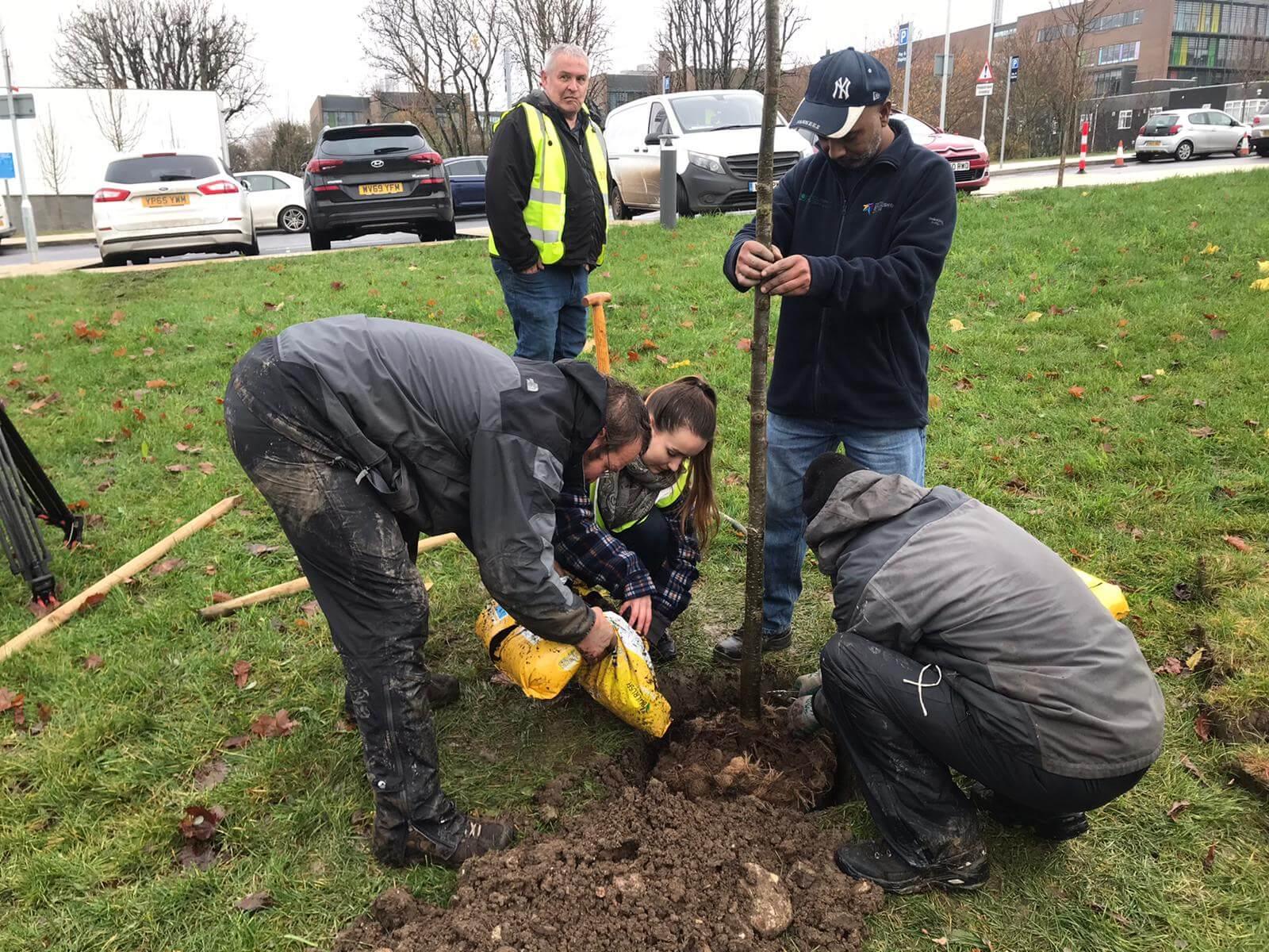 UKCC Tree planting project