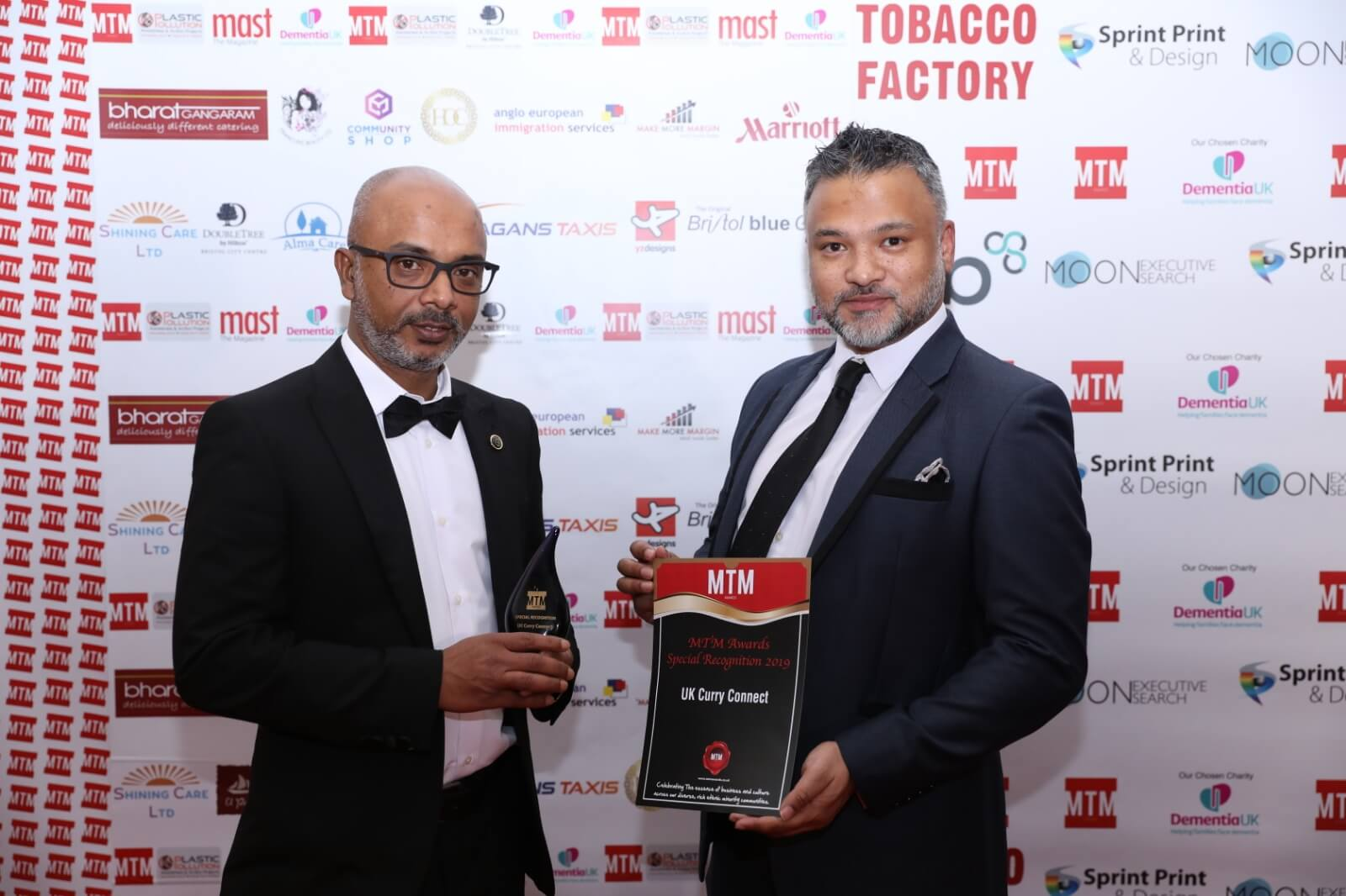 UKCC receives Special Recognition Award at the 2019 MTM Awards