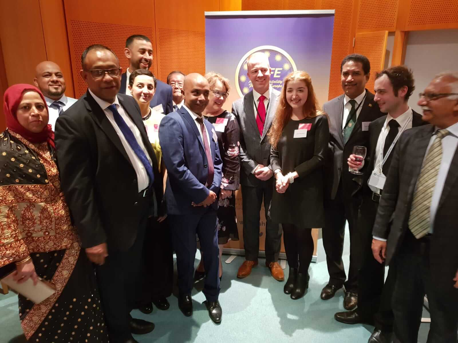 UKCC at the European Parliament, Brussels